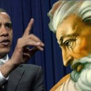 Obama Chastising God