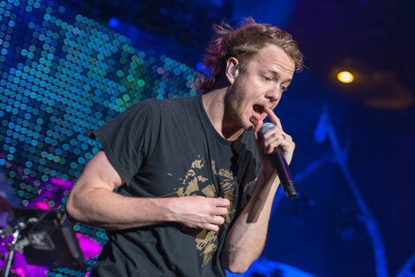 Live Photos  amp  Review  Imagine Dragons at SDSU Open Air Theatre    Imagine Dragons Lead Singer