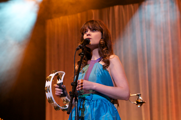 She & Him Zooey Deschanel M. Ward