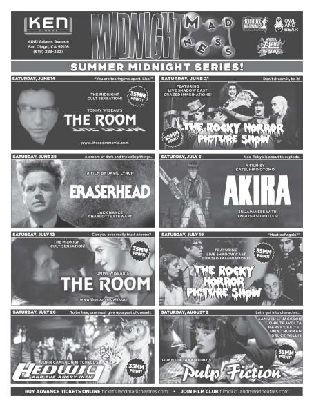 Ken Summer Movie Series Flier