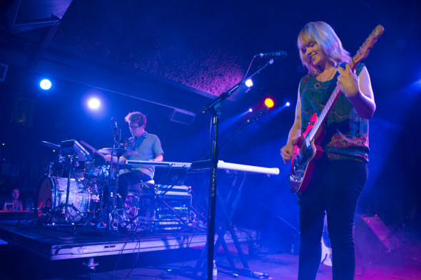 Wye Oak at the Belly Up, 2014